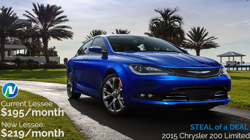 Steal of a Deal - 2015 Chrysler 200 Limited