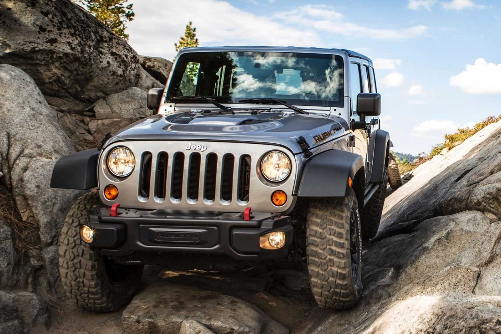 2015 Jeep Wrangler - Offroading