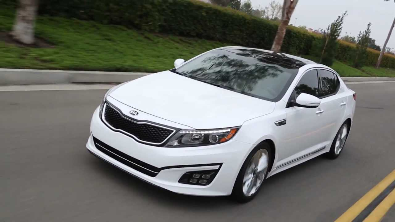 2015 Kia Optima Turbo