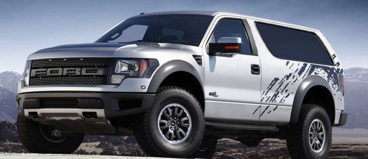 Future Ford Bronco - Raptor-Based Render