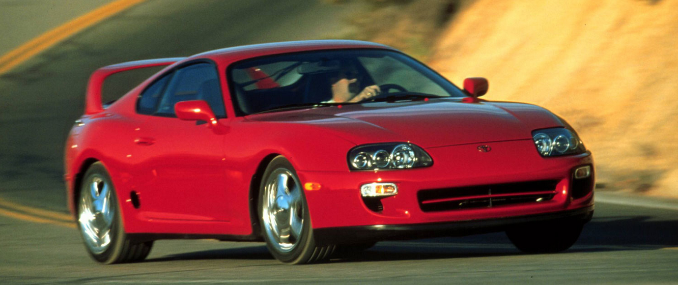 Japanese Sports Cars - Toyota Supra