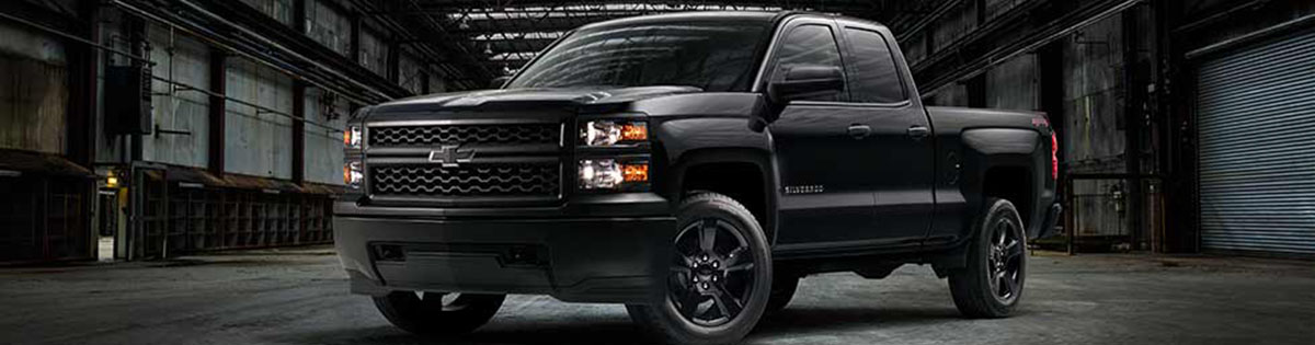 2015 Chevrolet Silverado Blackout Edition