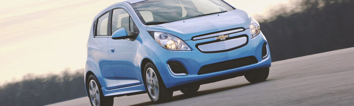 2015 Chevy Spark - Unique Color Options