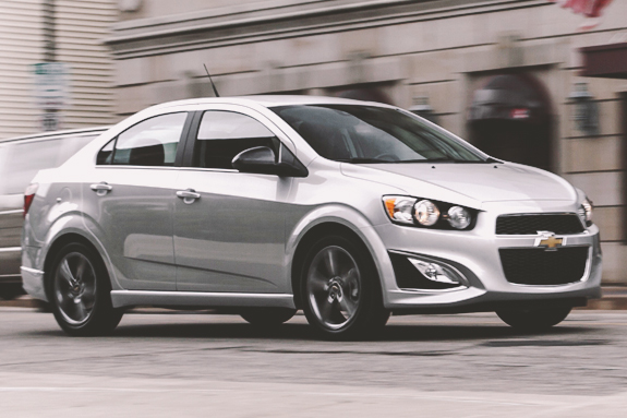 2015 Chevy Sonic - Pricing