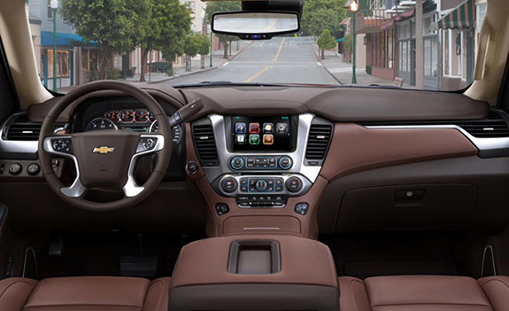 2015 Chevrolet Tahoe - Interior Refinement