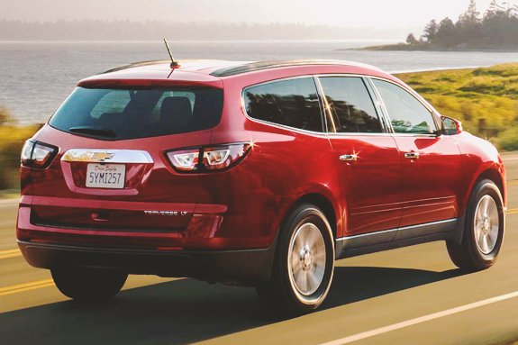 2015 Traverse - Mid-Size Crossover SUV