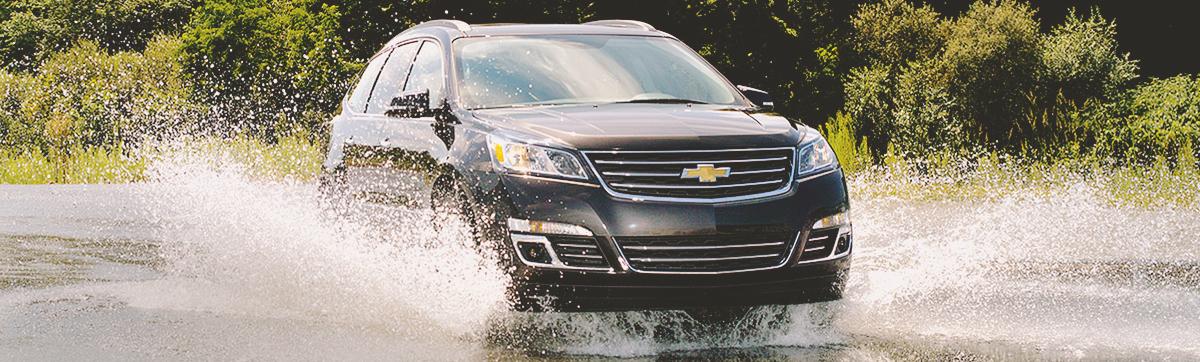 2015 Chevy Traverse - 5-Star Safety Rating