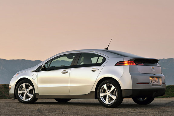 2015 Chevy Volt - Regenerative Braking