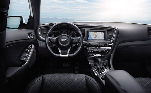 2015 Kia Optima Interior