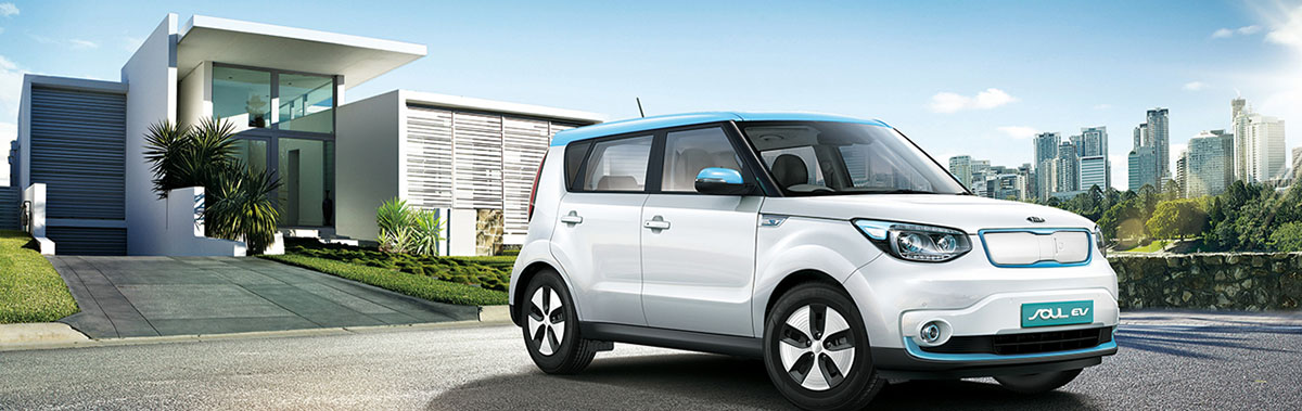 2015 Kia Soul EV - Fully Electric Car