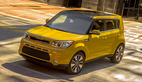 2015 Kia Soul - Exclaim Trim Option