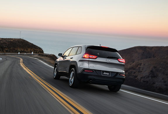 2015 Jeep Cherokee - Safety Features