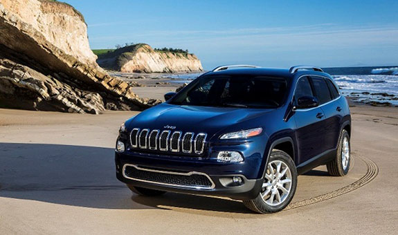 Redesigned 2015 Jeep Cherokee