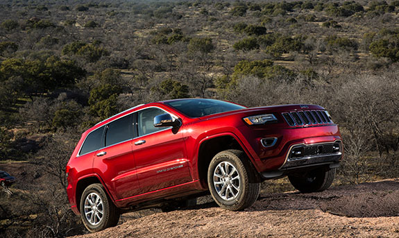2015 Jeep Grand Cherokee - Awards