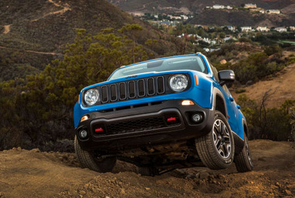 2015 Jeep Renegade Trailhawk - Offroad Capabilities