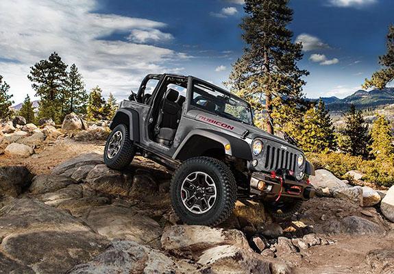 2015 Jeep Wrangler - 4x4 System