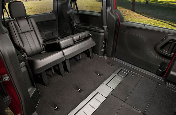 2017 Dodge Grand Caravan Stow N Go Seating