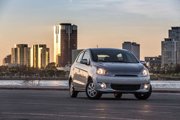 2015 Mitsubishi Mirage - Trim and Prices