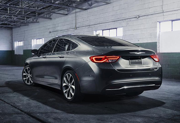 2015 Chrysler 200 - Trim Levels