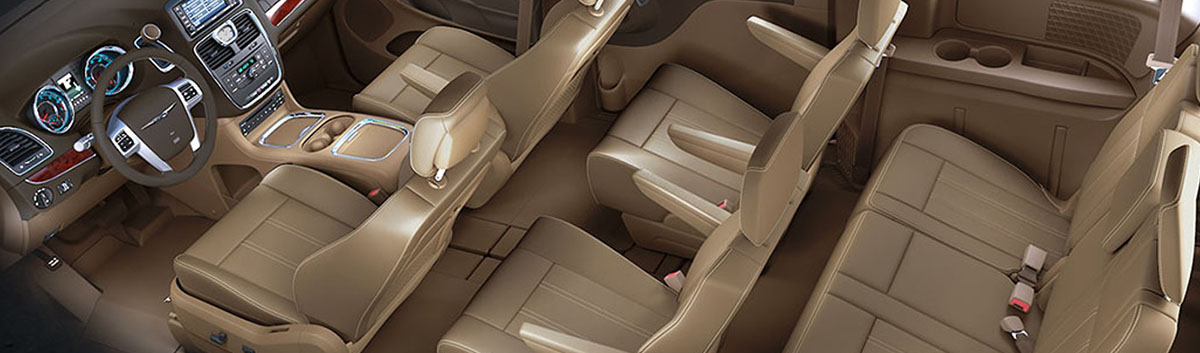 2015 Town and Country Interior