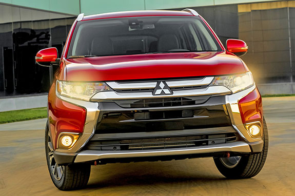2016 Mitsubishi Outlander - New Design Language