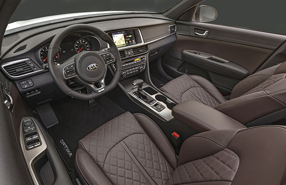 2016 Kia Optima Interior