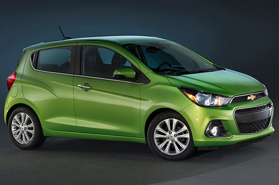 2016 Chevrolet Spark - Efficiency and Power