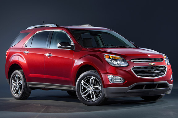 2016 Chevrolet Equinox - Trim Levels