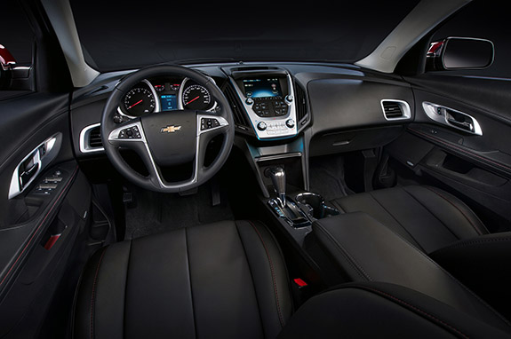 2016 Chevrolet Equinox - LTZ Interior