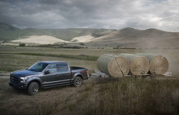 2015 Ford F-150 - Payload and Towing