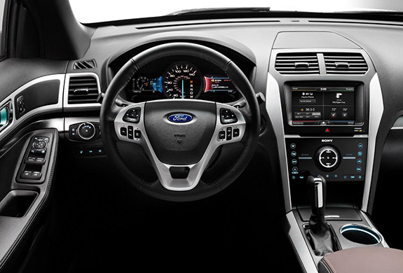 2015 Ford Explorer - Interior Technology