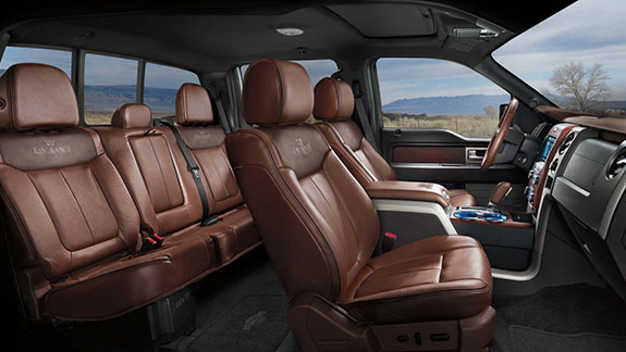 2015 Ford F-250 King Ranch Interior