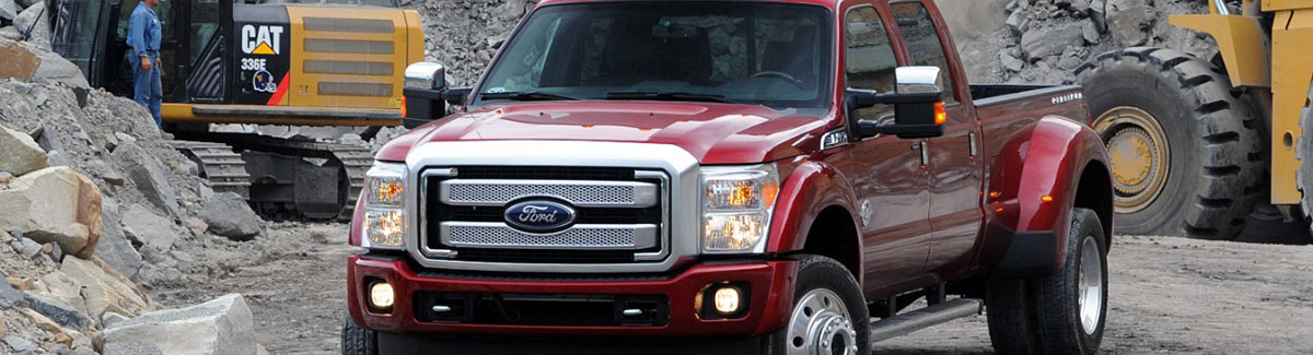 2015 Ford F-350 - Construction