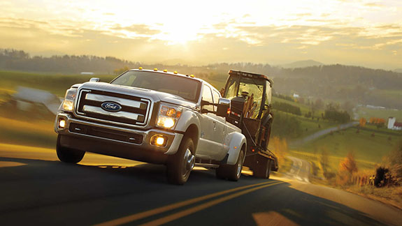 2015 Ford F-350 - Towing Capacity