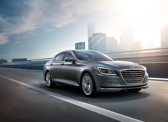 2015 Hyundai Genesis - Active Safety Features