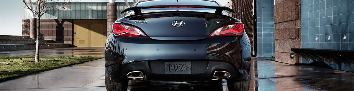 2015 Hyundai Genesis Coupe - Exhaust Tips