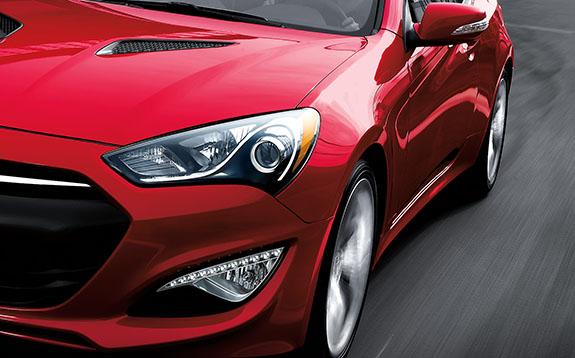 2015 Hyundai Genesis Coupe - Red Exterior