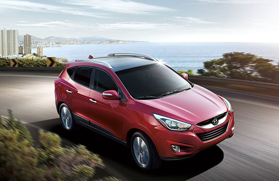 2015 Hyundai Tucson - Red Exterior