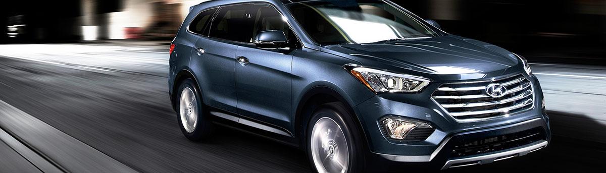 2015 Hyundai Santa Fe - Blue Exterior