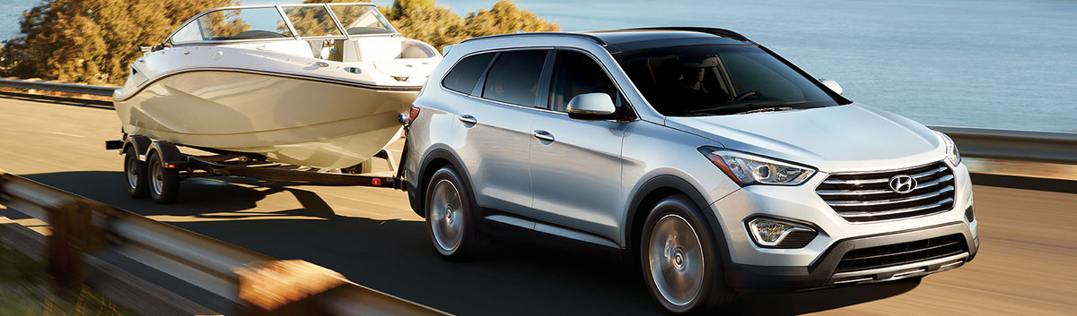 2015 Hyundai Santa Fe Towing