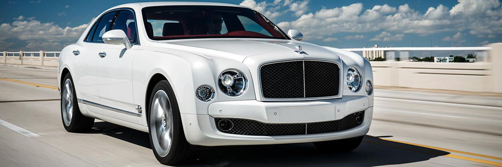 2016 Bentley Mulsanne - White