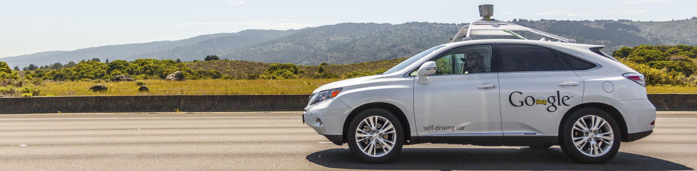 Google's Self-Driving Lexus RX 350