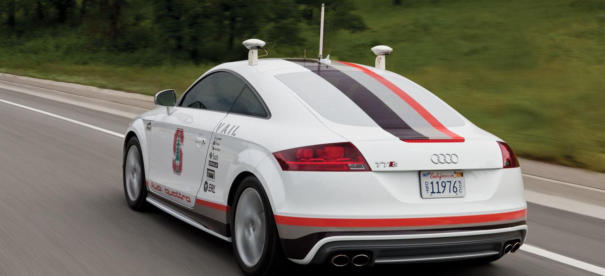 Self- Driving Audi