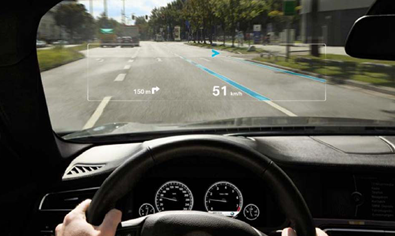 Augmented Reality Dashboard