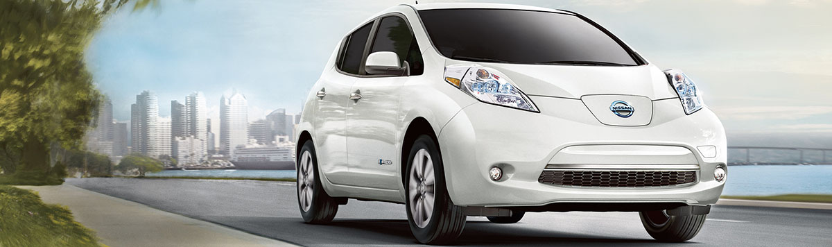 2015 Nissan Leaf - White