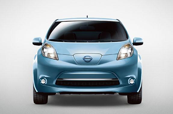 2015 Nissan Leaf - Front