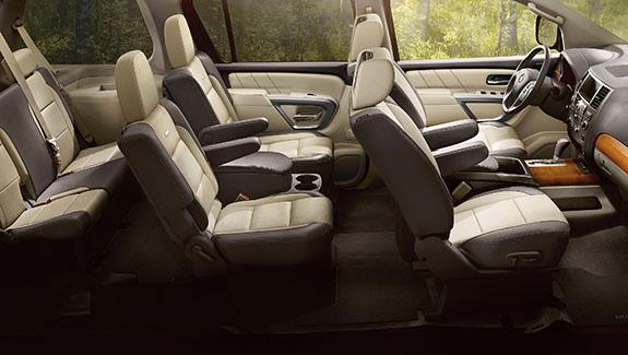 2015 Nissan Armada Interior