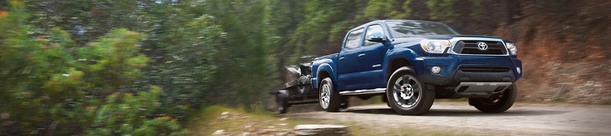 2015 Toyota Tacoma - Towing