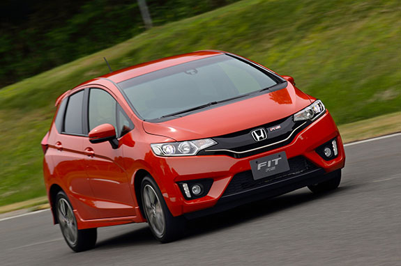 2015 Honda Fit RS
