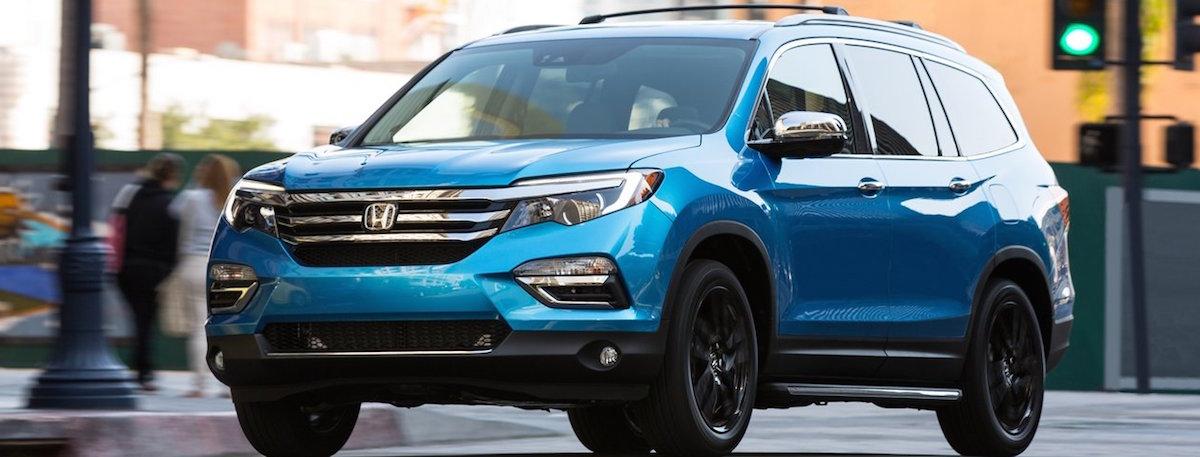 2016 Honda Pilot - Blue